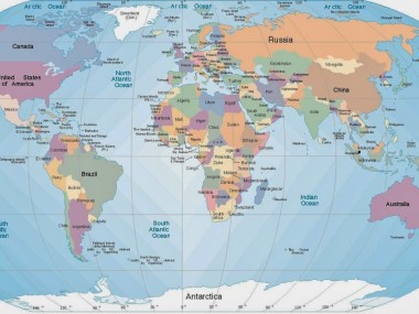 نقشه جغرافیایی ایران