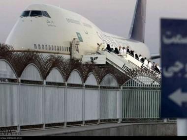 اولین پرواز زائران گیلانی عازم حج شدند